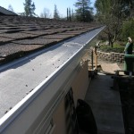 Comp Roof Gutterglove installation