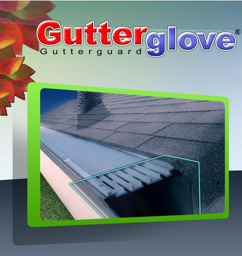 Gutterglove Gutter Guard Side Profle
